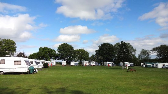 Kirkpatrick Fleming, UK: Main Camping field