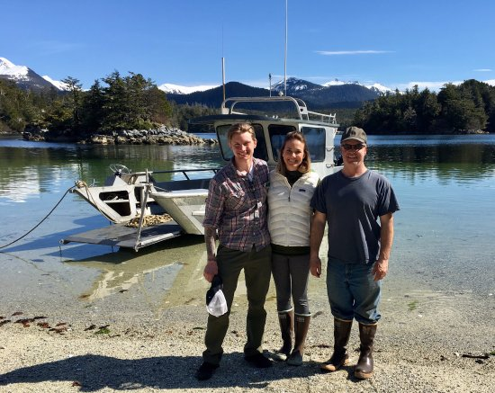 Sitka, AK: My girlfriend, Pat and Myself