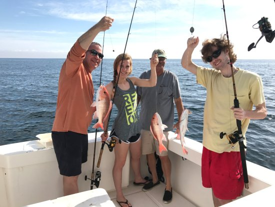 Apalachicola, Floryda: Red Snappers