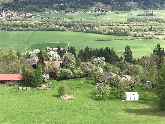Spittal an der Drau, النمسا: Blick auf den Hof