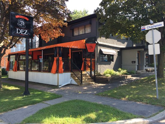 Salaberry-de-Valleyfield, Canada: Façade du Restaurant