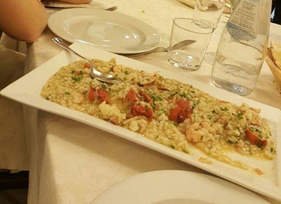 Ristorante Della Repubblica : Risotto ai frutti di mare, astice compreso: buonissimo!