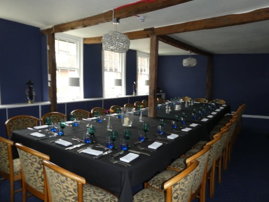 Great Dunmow, UK: upstairs private function room