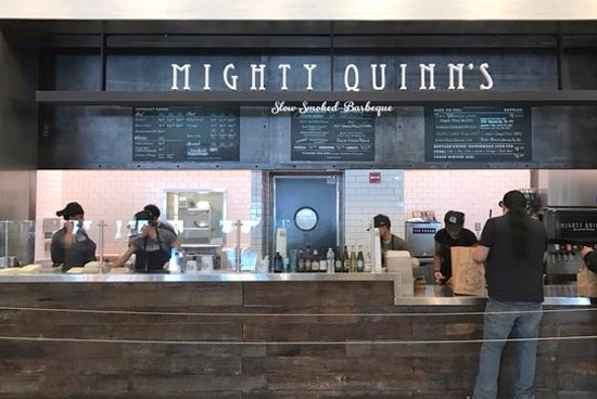 Hudson Eats counter for tartinery at hudson eats food court - picture of