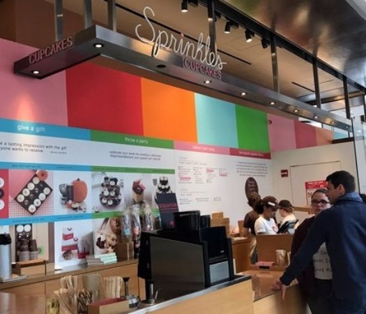 Hudson Eats counter for sprinkles at hudson eats food court - picture of