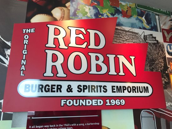 California, MD: Red Robin!!
