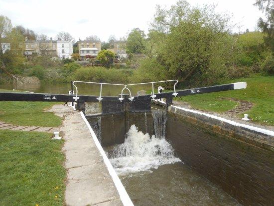 Bath Locks: Lock on the Kennet and Avon Canal
