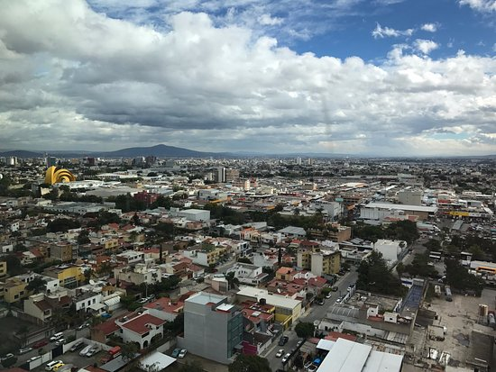 The Westin Guadalajara: The views are always changing. This was just one direction. I could post many more!