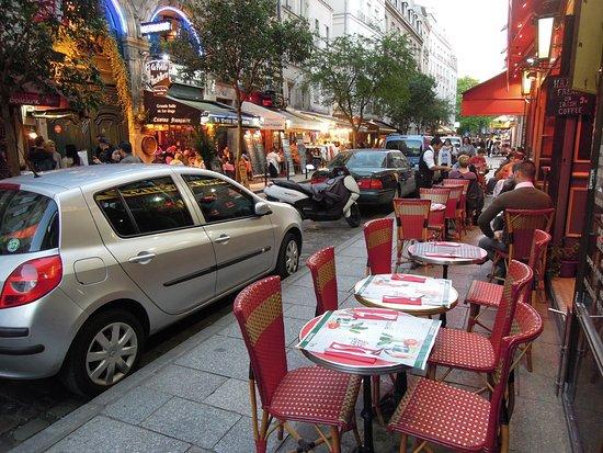 MONK - La Taverne de Cluny : Rue de la Harpe
