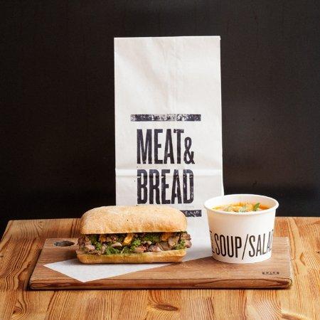 Meat & Bread: Soup & Sandwich