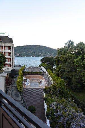 """Hotel Splendid: chambre estampillée """"vue sur la montaagne"""""""
