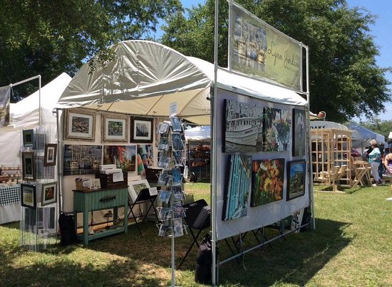 Foley Art Center's sponsored Annual Art in the Park always Mother's Day week end. Saturday & Sun