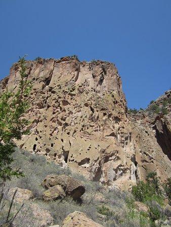 Λος Άλαμος, Νέο Μεξικό: rock formation