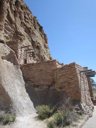Λος Άλαμος, Νέο Μεξικό: Pueblo dwelling