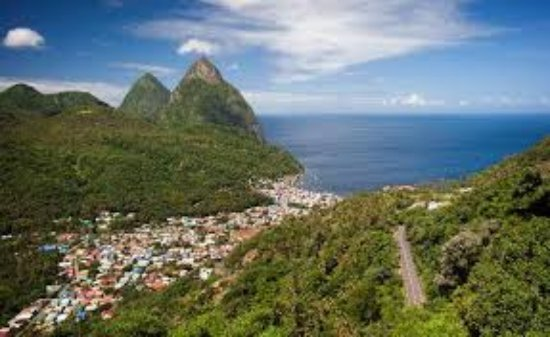 Vieux Fort, St. Lucia: Soufriere