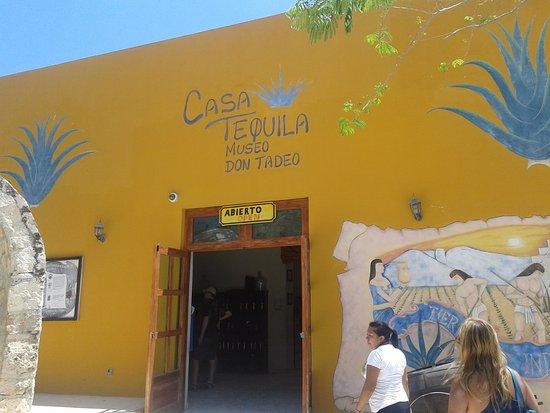 Temozón, México: Casa del Tequila (artesanal)