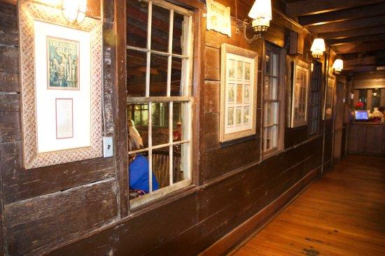 Inside The Pirates' House Restaurant
