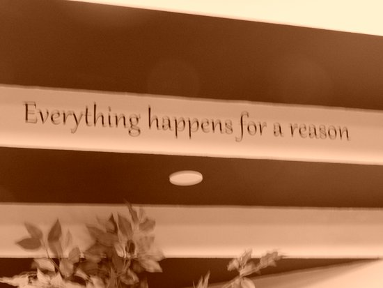 Dayton, NJ: Our motto - Everything happens for a reason - tells a little of the story of how we got here