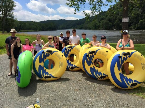 Galax, VA: River Tubes are a great way to beat th summer heat