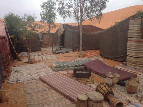 Hassilabied, Morocco: Campamento del desierto