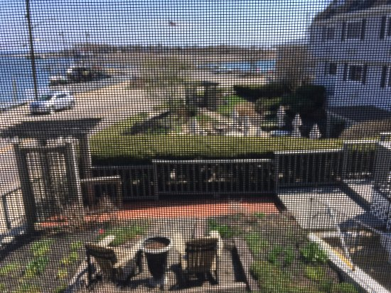 Scituate, MA : view showing patios, screens are just camera glitch, not visible