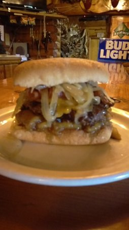 Winter, WI: September 2016 Burger of the Month