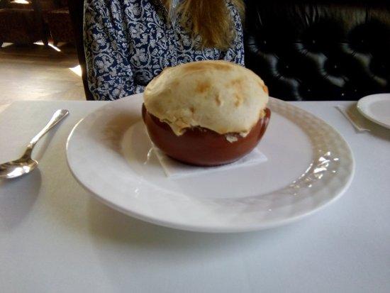 Jules Verne: Грибной суп под хлебом