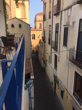 View from our balcony looking toward town picture of for Hotel mignon meuble sorrento italy