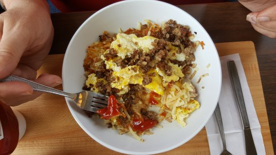 Hash brown bowl - Picture of Waffle House, Clarksville ...