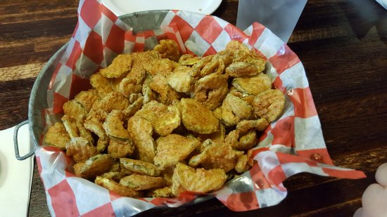 Marion, IL: The fried pickles