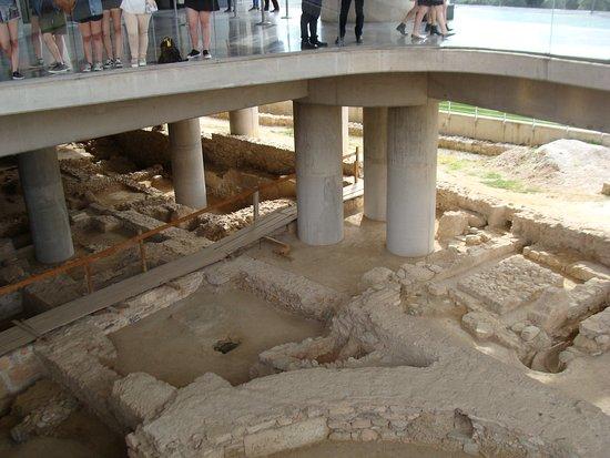 Μουσείο Ακρόπολης: Древний город