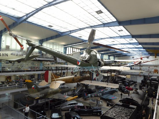 National Technical Museum : A view of the main hall - Don't forget to buy your photo pass - Worth it