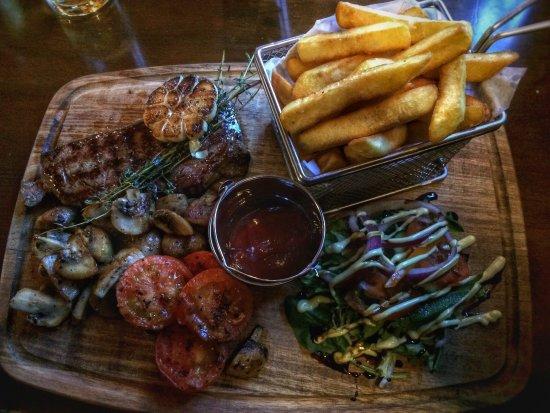 Northfleet, UK: Great tasting steak!