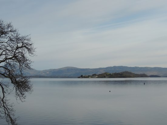 Arden, UK: View from Heron Lodge