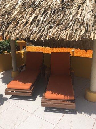 Seaside Cabanas Hotel: roof top cabana 4