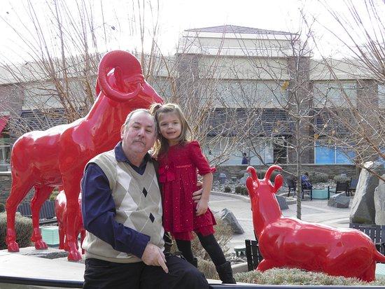 Sparks, NV: Estatua de animais da região
