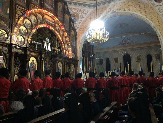 Prudentópolis, PR: Igreja no dia de sábado de páscoa