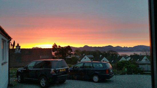 Ardvasar, UK: Sunrise spring  6am Homeleigh worth getting up for!