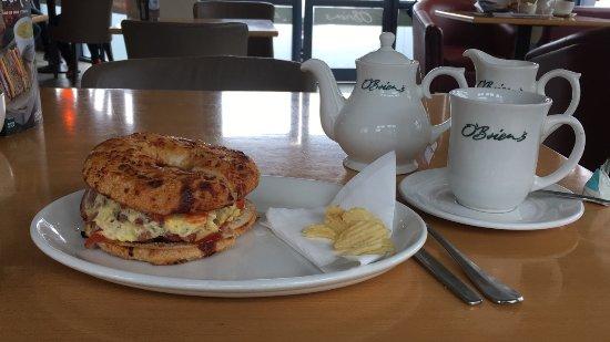 Ennis, Irlanda: Eggworks bagel