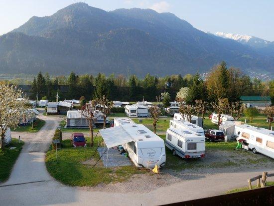 Wiesing, Österreich: Campingplatz