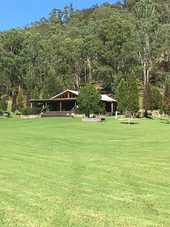 Wollombi, Australia: Our amazing luxurious lodge for the Easter weekend!