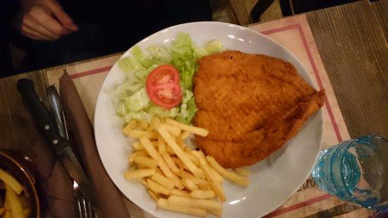 Fish escalope