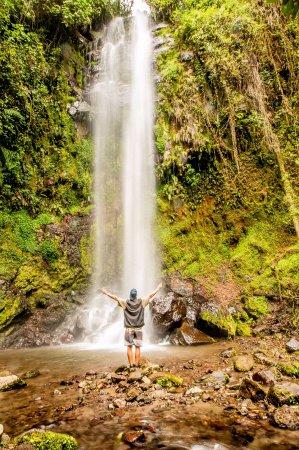 The Lost Waterfalls-Boquete: Chiriquiando en The LOst Waterfalls, Bajo Mono...