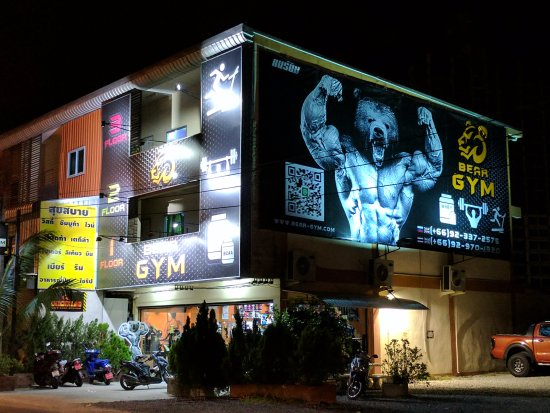 Bang Lamung, Thailand: Lately the best gym found in Jomtien (Bear Gym)