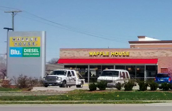Plainfield, IN: Waffle House