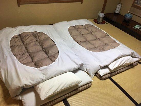 Ashinoko Ichinoyu Futons In Japanese Style Room