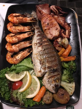 Authentic greek food very fresh seafood picture of for Authentic greek cuisine