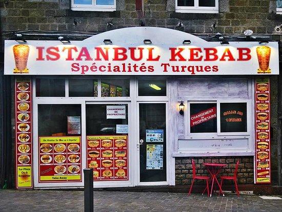 La Ferte Mace, فرنسا: Istanbul kebab