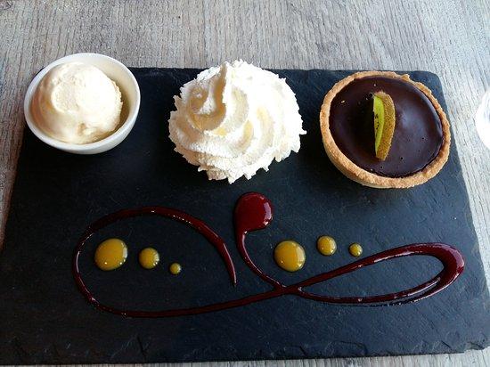 Rhone, Frankrig: Tarte au chocolat