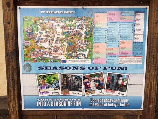 Buena Park, CA: Carte du parc